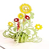 Yagoal grußkarten lustige Geschenke für Freundin Popup-Karte Geburtstagskarte Mutter lustige Karten Jubiläumskarte Mutter Geburtstagskarte sunflower1