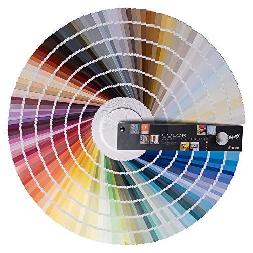 Maxmeyer MKIMCC0005 Mazzetta Color Collection, 1188 Tinte Che abbracciano Tutto Lo Spettro cromatico, da Scegliere e Abbinare per Ottenere Un Risultato di Grande Effetto, Multicolor