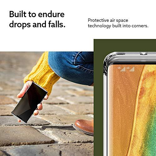 Caseology Waterfall, Kompatibel mit Huawei Mate 30 Pro Hülle Transparent Durchsichtig, Handyhülle Huawei Mate 30 Pro (Crystal Clear) - 4