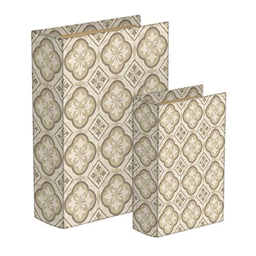 Vidal Regalos Caja Forma Libro Set 2 Unidades Hidraulico