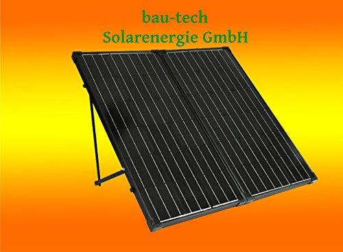 bau-tech Solarenergie 200Watt Solarkoffer für Wohnmobil Garten Freizeit, Solaranlage Komplettpaket GmbH
