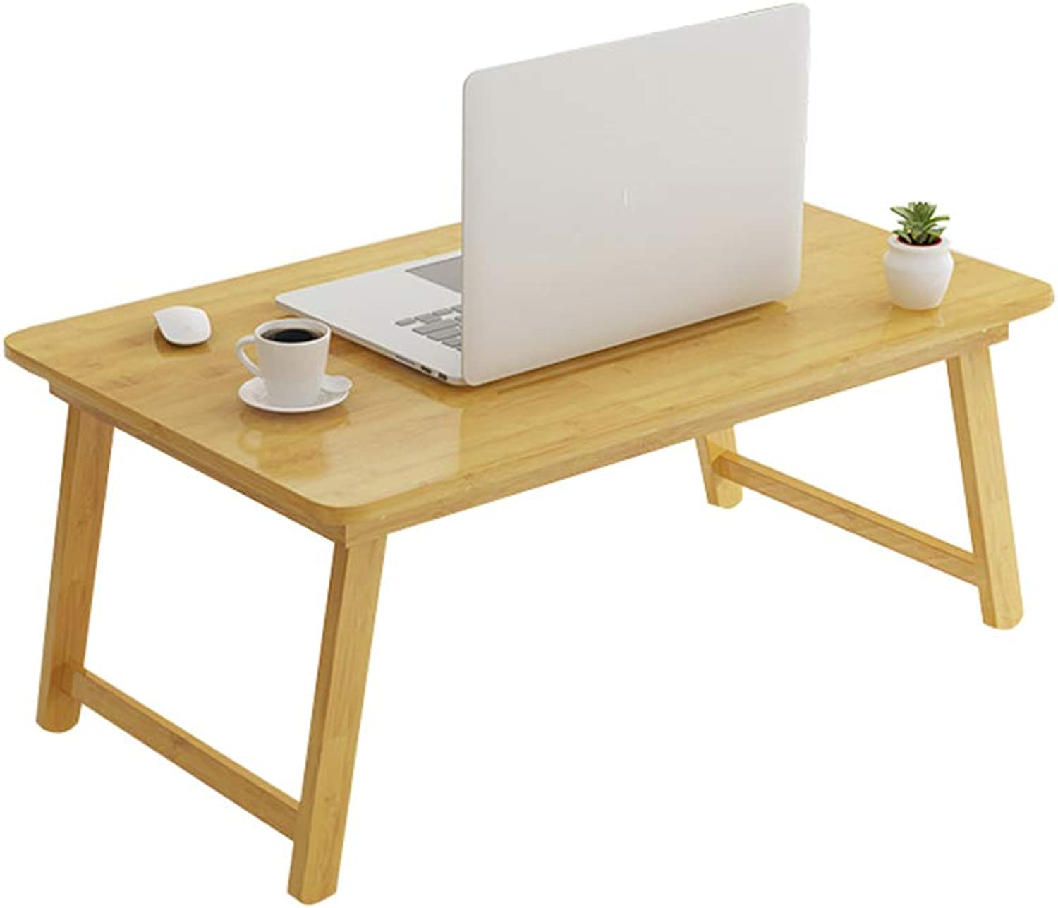C-J-Xin Leisure table, Made of bamboo Small table bedroom Bed table living room balcony Tea table Foldable Simple table easy to carry Household table (Size   B-70  42  29cm)
