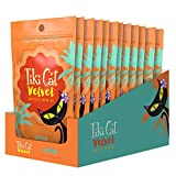 Tiki Cat Velvet Mousse Grain-Free Wet Food with a Silky-Smooth Texture for Adult Cats & Kittens, 2.8oz, 12pk, Chicken