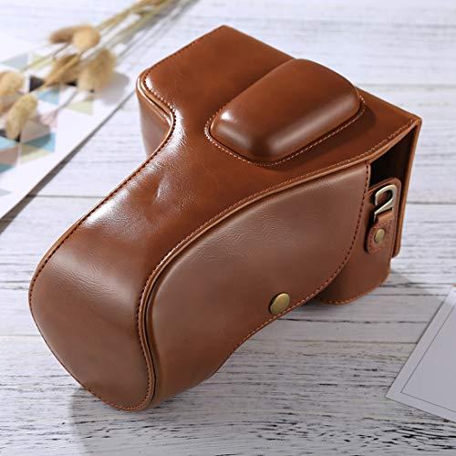 Full Body Camera PU Lederen Case Bag Full Body Camera zachte PU Lederen Case Bag voor Nikon D5300 / D5200 / D5100 (18-55mm / 18-105mm / 18-140mm Lens) (Zwart) voor Sony A5100/Voor Nikon Digitale SLR Camera, BRON