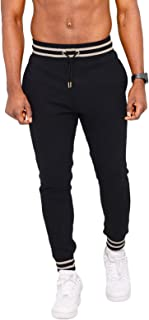 Sponsored Ad - Wangdo Men's Athletic Joggers,Slim Fit Workout Track Pants,Tapered Sweatpants for Men Gym,Running,Exercise