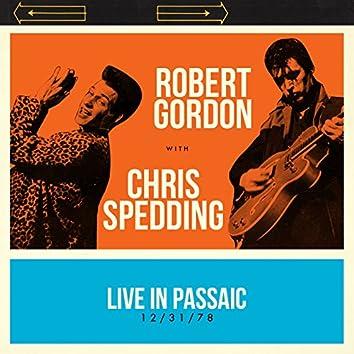 Live in Passaic 12/31/78