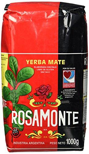 Yerba Rosamonte Argentinischer Mate Tee, 5er Pack (5 x 1000 g)