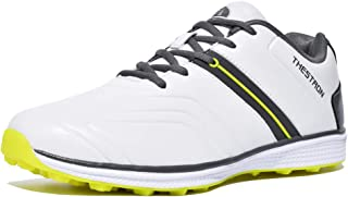 puma faas grip golf shoes white orange