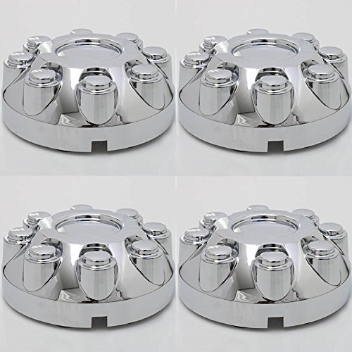 """CoverTrend (Set of 4 Piece) Aftermarket fits 2003-2013 Dodge RAM 2500 3500 TRUCK 17"""" CHROME Wheel Center Caps 8 Lug Covers Hub"""