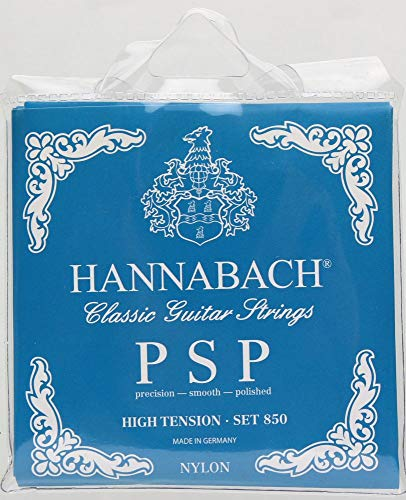 Hannabach 652767 Klassikgitarrensaiten Serie 850 High Tension PSP - Satz