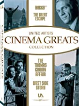 United Artist Cinema Greats Collection: Set 2 (The Great Escape / Rocky / West Side Story / The Thomas Crown Affair)