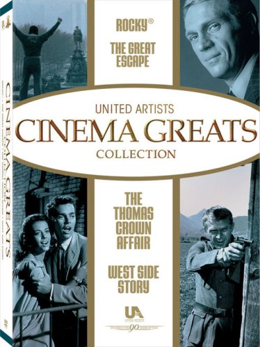 United Artist Cinema Greats Collection, Set 2 (The Great Escape / Rocky / West Side Story / The Thomas Crown Affair)