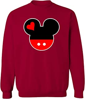 Mickey Mouse Head Sweatshirts for Women and Men Sweaters