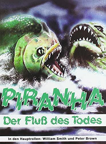 Piranha - Der Fluß des Todes - Mediabook - Limitiert auf 111 Stück - Cover A (Uncut) (+ DVD mit alter deutscher Fassung & englischer TV-Fassung)