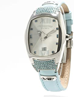 Chronotech Womens Analogue Quartz Watch with Leather Strap CT7819L-03S