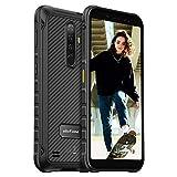 Ulefone Armor X8 Outdoor Smartphones - 4G Dual SIM Android 10 4GB+64GB 5.7 Zoll 5080mAh Akku Robustes Handy Ohne Vertrag (Schwarz)