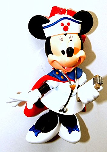 Disney World Park Set 2014 Vintage Look Nurse Minnie Mouse Christmas Ornament