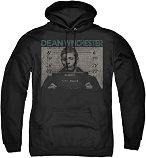 The Creating Studio Adult Supernatural Dean Winchester Hoodie