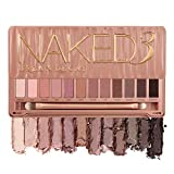 Urban Decay Naked3 Eyeshadow Palette, 12 Versatile Rosy Neutral Shades for Every Day -...