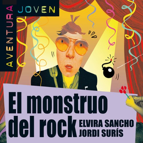 El monstruo del rock [The Rock Monster] audiobook cover art