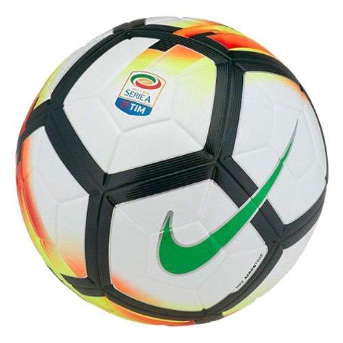 Nike Ordem 5, Pallone Serie A 2017/2018, Misura 5, Bianco