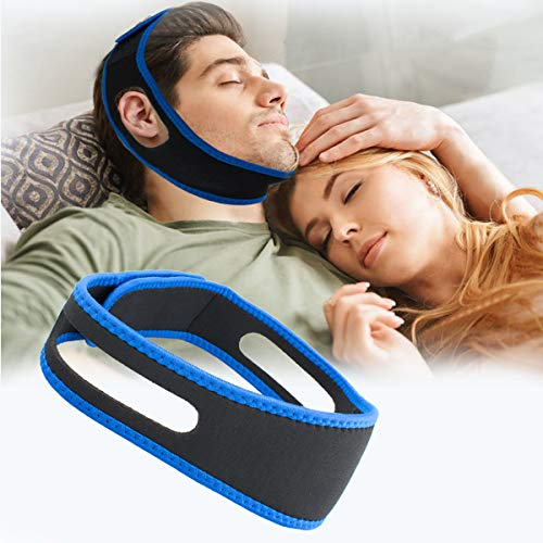 Anti Snoring Chin Strap, Snoring Solution Anti Snoring Devices Effective Stop Snoring Adjustable Snore Reduction Chin Straps Sleep Aids Snore Stopper...
