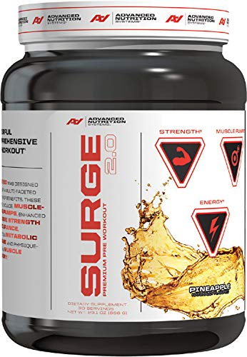 Advanced Nutrition Systems   Surge 2.0   Pineapple