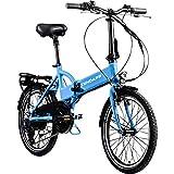 Zündapp Faltrad E-Bike 20 Zoll Z101 Klapprad Pedelec StVZO Elektrofaltrad 6 Gang (hellblau)