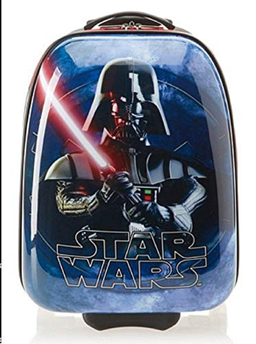 Star Wars Light Weight Darth Vader 17 Inch ABS Rolling Carry-On Luggage with Wheels for Children - Darth Vader