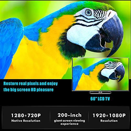 ALWAYZZ Proyector T6 Android 9.0 WiFi Opcional 3500Lumen 1080P HD ...