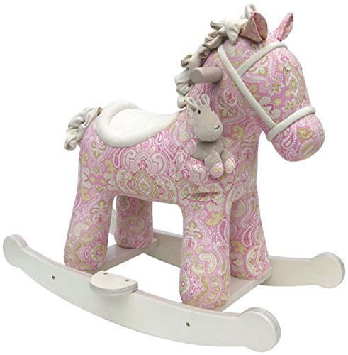 Little Bird Told Me - Pixie and Fluff - Infant Rocking Horse