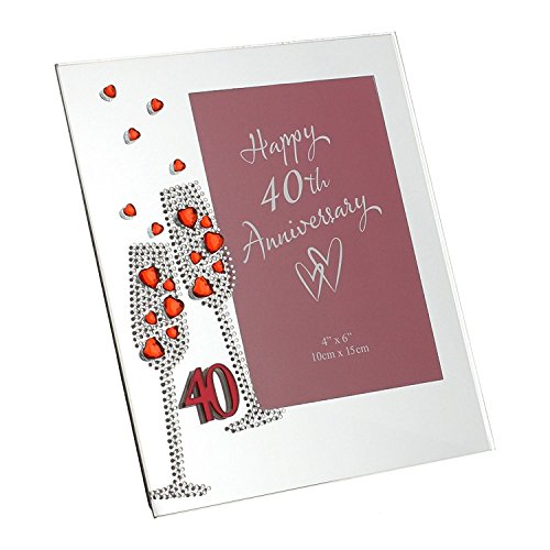 Juliana Unisex 40th Anniversary Mirror Photo F