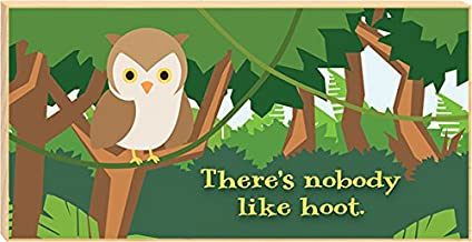 product image for Imagine Design There's Nobody Like Hoot Young and Wild Free-Standing Plaque