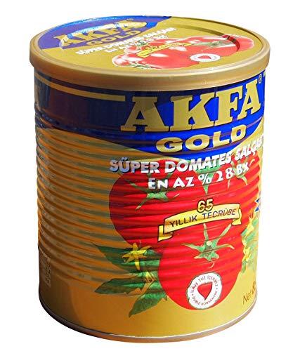 AKFA GOLD Tomatenmark Doppel Konzentriert - Süper Domates Salcasi 850g