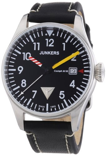 Mens Watches JUNKERS Cockpit JU52...