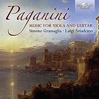 Paganini: Music for Guitar and Viola by Luigi Attademo (2014-12-19)