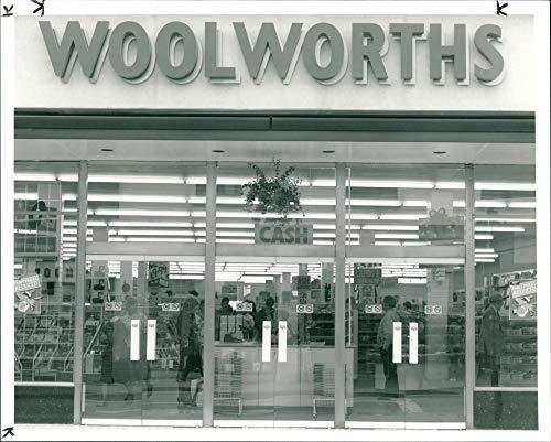 Woolworths Fotodruck Vintage Press