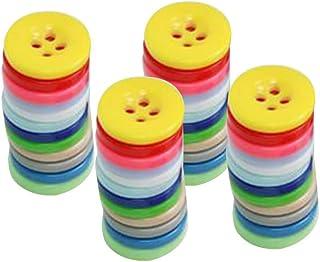 SUPVOX 1000 peças de botões de resina coloridos, botão de costura, acessórios de roupas, artesanato redondo para costura, ...