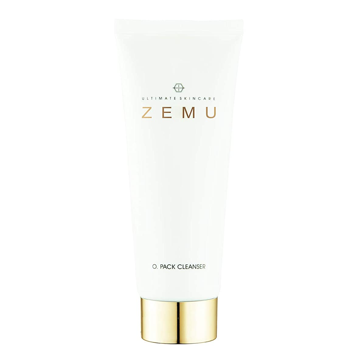 災難前件スプリットUltimate skincare ZEMU パックゴールドフェイシャルクレンジングフォーム3.38オズ