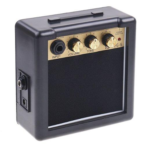 ammoon 5W Amplificatore Chitarra Elettrica Alta Sensibilità Con una Clip Netallica