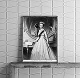 Infinite Photographs Foto: su majestad la Reina Isabel II, Regla, Monarquía, Europa, Fiesta, Corona, D chandor, C1952