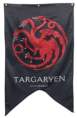 "Calhoun Game of Thrones House Sigil Wall Banner (30"" by 50"") (House Targaryen)"