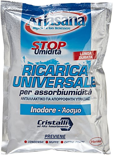 Ariasana 673937 Ricarica Sali assorbiumidità, Inodore, 1 Busta, 450 g