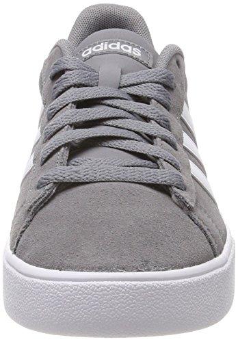 Adidas Daily 2.0, Zapatillas Hombre, Gris (Grey/Footwear White/Footwear White 0), 43 1/3 EU