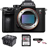 Sony a7R III 42.4MP Full-Frame Mirrorless Interchangeable-Lens Camera 128GB VideoMicGo Bundle