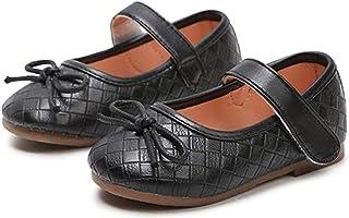 WUIWUIYU - Zapatillas de estudiantes para niñas, diseño de princesa