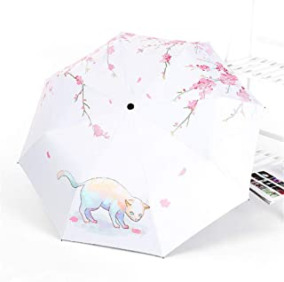 自動傘、ビニール用日傘グリル用三つ折り兼用四季傘,C