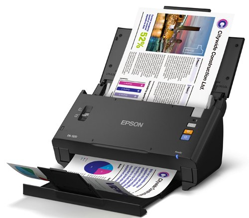 Epson WorkForce DS-520 Sheet-Fed Color Document Scanner for PC & MAC, Auto Document Feeder (ADF) & Duplex (B11B234201) Photo #4