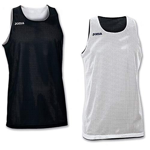 Joma 100050.100 - Camiseta de baloncesto para hombre, color negro, talla M