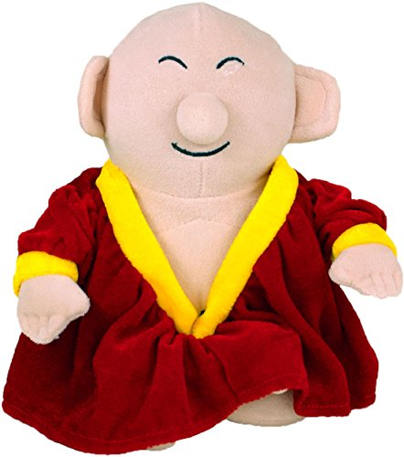 The Unemployed Philosophers Guild Buddha Little Thinker - 11' Plush Doll for Kids and Adults